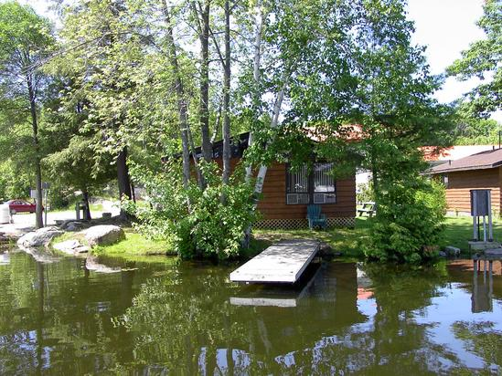 Cottage #3 - Reach Harbour Marina on the Trent-Severn system in the Kawarthas.