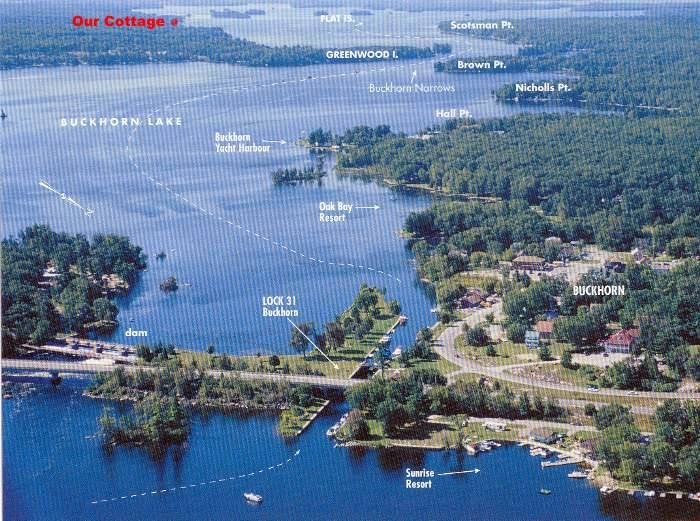 Reach Harbour - Location on Lower Buckhorn lake on the Trent-Severn system in the Kawarthas.